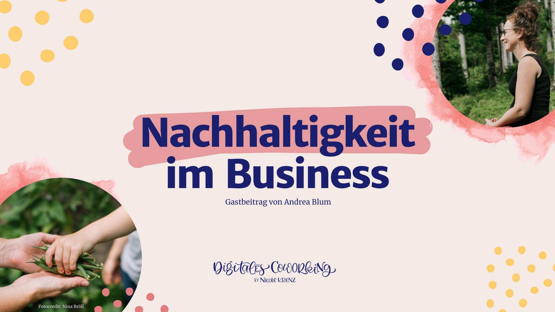 Nachhaltigkeit im Business