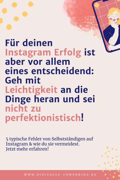 Instagram für Selbstständige