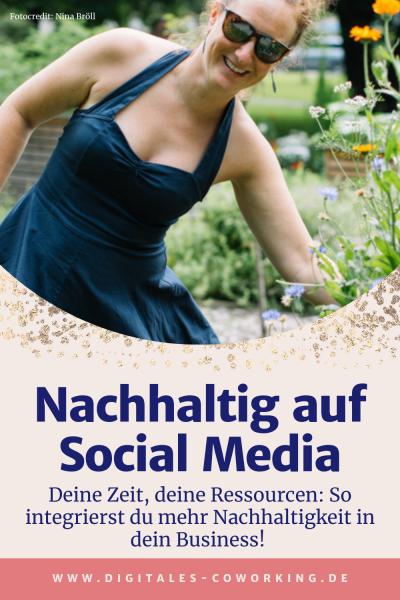 Nachhaltigkeit auf Social Media