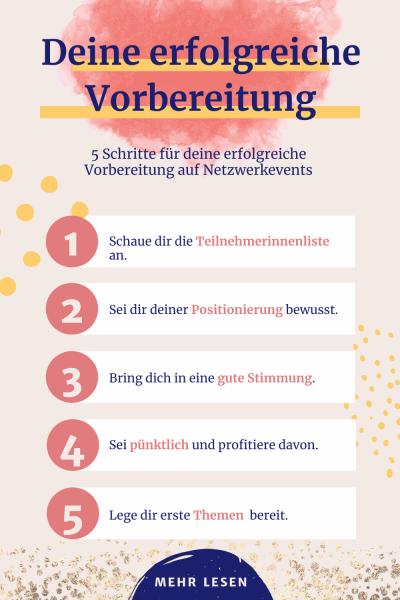 Netzwerken lernen: Vorbereitung auf Netzwerkevents