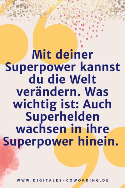 Finde deine Superpower im Business
