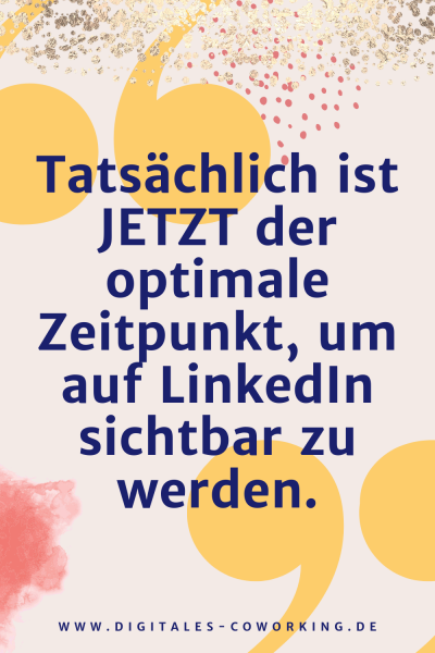 LinkedIn Profil Optimierung