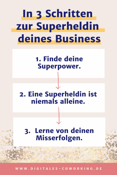 Superheldin deines Business