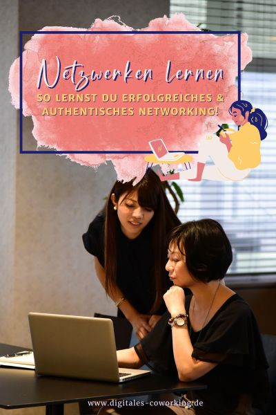 Digitales Coworking - Netzwerken lernen
